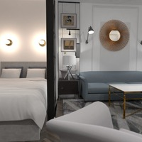 zdjęcia sypialnia pokój dzienny pomysły