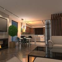 идеи дом гостиная кухня столовая студия идеи