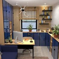 photos maison meubles décoration bureau eclairage idées