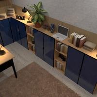 fotos casa muebles decoración despacho iluminación ideas