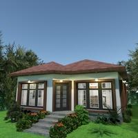foto casa decorazioni illuminazione paesaggio famiglia idee
