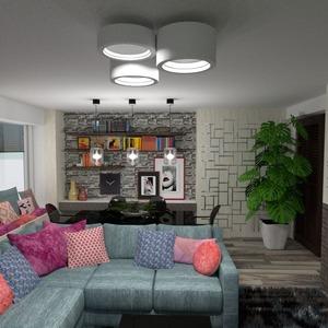 foto appartamento arredamento saggiorno illuminazione sala pranzo idee
