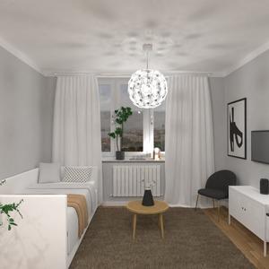 fotos dormitorio salón estudio ideas
