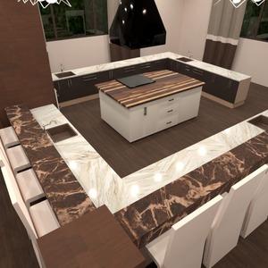 photos meubles cuisine eclairage salle à manger espace de rangement idées