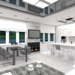 fotos apartamento muebles decoración sala de estar cocina iluminación reparación comedor estudio ideas