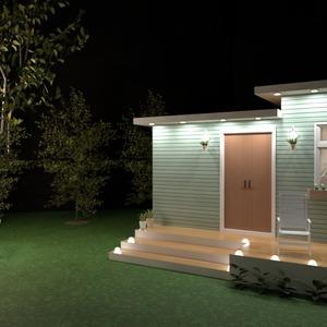 foto casa decorazioni oggetti esterni illuminazione idee