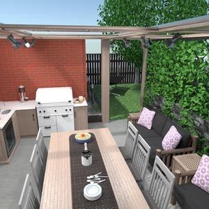 ideas terrace outdoor landscape ideas