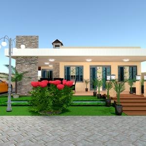 photos maison garage extérieur paysage architecture idées