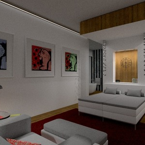 fotos apartamento mobílias decoração dormitório iluminação arquitetura despensa ideias