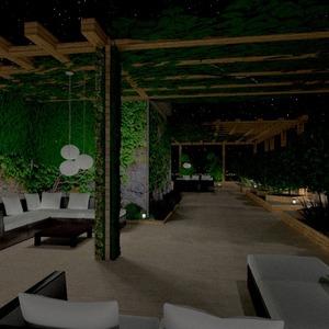 fotos apartamento varanda inferior mobílias área externa iluminação paisagismo arquitetura ideias