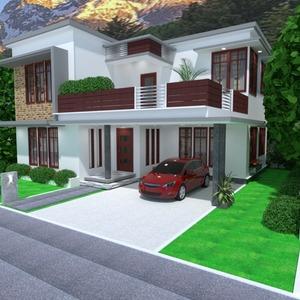fotos casa varanda inferior decoração faça você mesmo garagem rua iluminação paisagismo arquitetura idéias