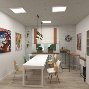 nuotraukos svetainė biuras renovacija valgomasis idėjos