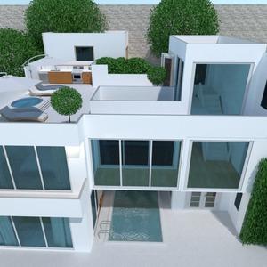 zdjęcia dom taras na zewnątrz architektura pomysły