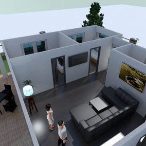 fotos casa terraza muebles decoración ideas