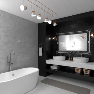zdjęcia meble wystrój wnętrz łazienka oświetlenie pomysły