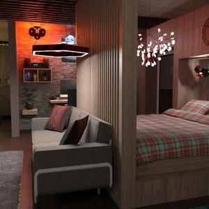 photos chambre à coucher bureau eclairage maison espace de rangement idées