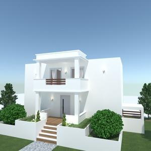 идеи дом освещение ландшафтный дизайн идеи