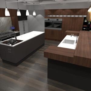 photos maison cuisine eclairage maison salle à manger idées