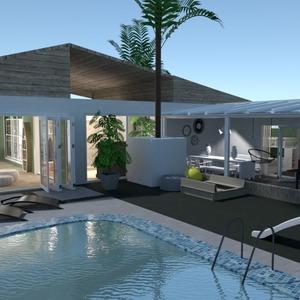 zdjęcia dom na zewnątrz krajobraz pomysły