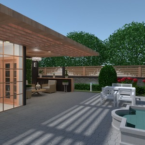 photos apartment house terrace kitchen outdoor ideas