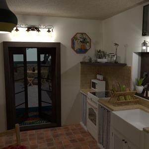 zdjęcia dom taras meble wystrój wnętrz kuchnia pomysły
