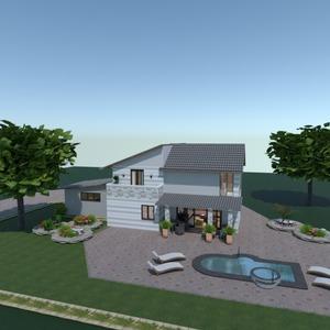 photos maison extérieur rénovation paysage idées