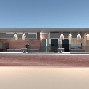 идеи кухня освещение ремонт кафе архитектура идеи