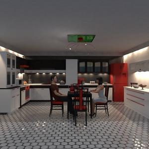 fotos mobílias cozinha iluminação sala de jantar ideias
