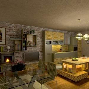 идеи кухня освещение столовая идеи