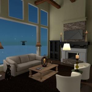 photos maison décoration salon eclairage idées