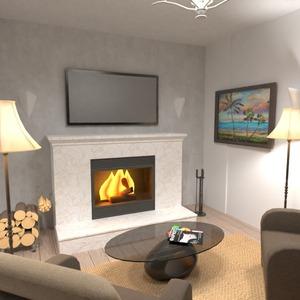fotos muebles decoración salón iluminación hogar ideas