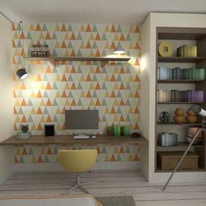 fotos apartamento decoração dormitório escritório despensa ideias