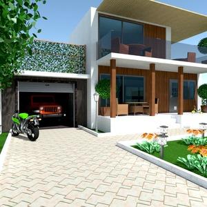 photos maison extérieur paysage idées