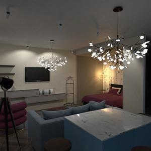 foto appartamento camera da letto saggiorno cucina monolocale idee