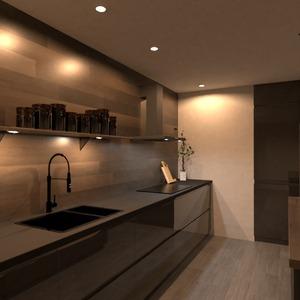 zdjęcia mieszkanie dom kuchnia oświetlenie jadalnia pomysły