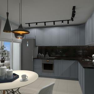 идеи квартира мебель декор кухня освещение ремонт столовая идеи