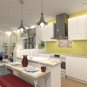 fotos apartamento sala de estar cocina ideas