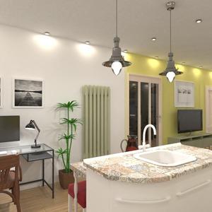 fotos apartamento sala de estar cocina iluminación ideas
