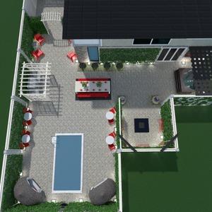 photos terrace decor landscape ideas