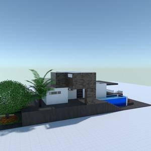 foto casa veranda esterno illuminazione famiglia idee
