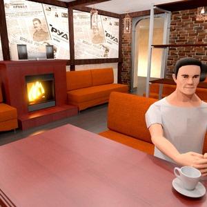 photos decor cafe dining room ideas
