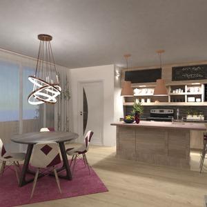 fotos mobílias decoração cozinha sala de jantar ideias