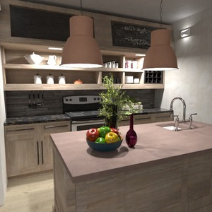 fotos decoração cozinha iluminação ideias