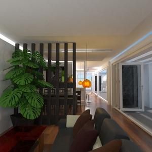 foto casa veranda decorazioni esterno illuminazione idee