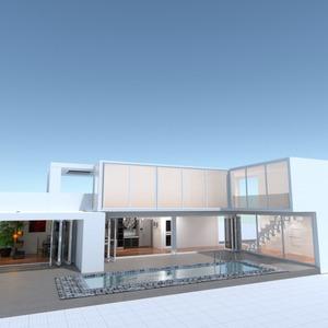fotos apartamento casa decoração área externa iluminação ideias