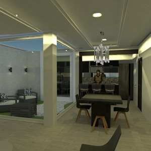 photos appartement décoration diy eclairage salle à manger idées