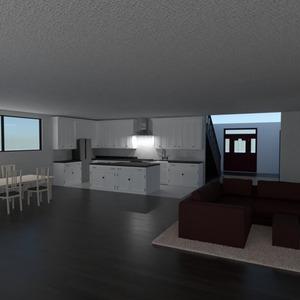 nuotraukos namas svetainė virtuvė idėjos