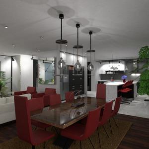zdjęcia wystrój wnętrz pokój dzienny kuchnia jadalnia pomysły