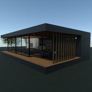 fotos casa varanda inferior área externa arquitetura ideias