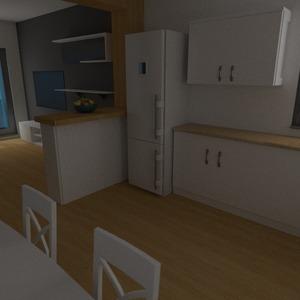 zdjęcia mieszkanie meble pokój dzienny kuchnia jadalnia architektura pomysły